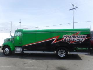 Used 2008 PETERBILT 335 Cube Van DieselDually Cube Van Diesel Transport Delivery Truck Air Brakes 20.5 feet for sale in Burnaby, BC