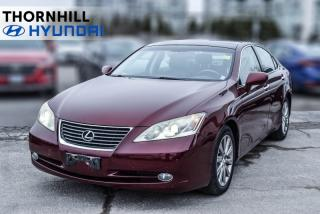 Used 2008 Lexus ES 350 Base for sale in Thornhill, ON