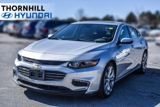 Used 2016 Chevrolet Malibu Premier  - Navigation -  Leather Seats for sale in Thornhill, ON