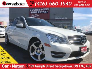 Used 2012 Mercedes-Benz C-Class C250 4MATIC | LEATHER | NAVI | ROOF | TINTS for sale in Georgetown, ON