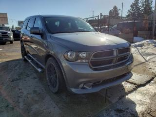 Used 2011 Dodge Durango R/T-HEMI-DVD-7 PASSENGER-NAVI-LOW Monthly Payments for sale in Edmonton, AB