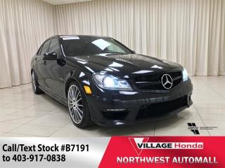 Used 2013 Mercedes-Benz C-Class C63 AMG for sale in Calgary, AB