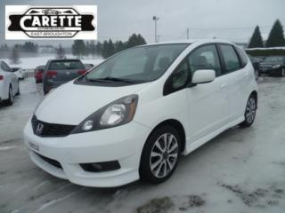 Used 2013 Honda Fit Sport for sale in East broughton, QC