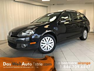 Used 2014 Volkswagen Golf Wagon 2.0 Tdi Trend for sale in Sherbrooke, QC