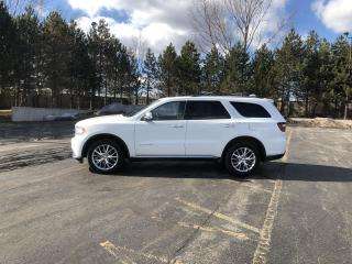 Used 2015 Dodge Durango Citadel AWD for sale in Cayuga, ON