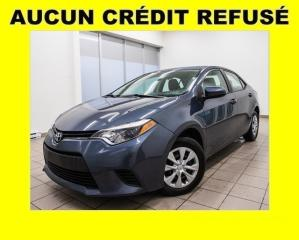 Used 2014 Toyota Corolla CE A/C for sale in St-Jérôme, QC