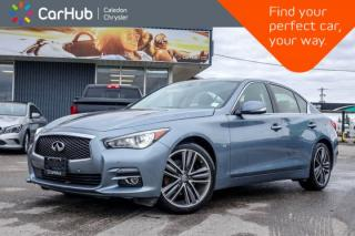 Used 2015 Infiniti Q50 AWD|Navi|Sunroof|360 Backup Cam|Bluetooth|Push Start|17
