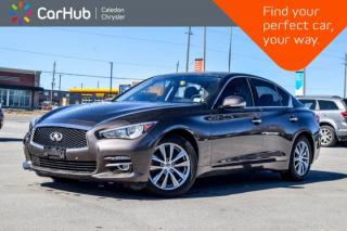 Used 2015 Infiniti Q50 Sport|AWD|Navi|Sunroof|Backup Cam|Bluetooth|Leather|Push Start|19