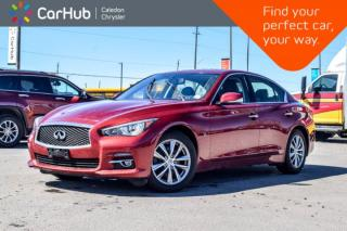 Used 2015 Infiniti Q50 AWD|Navi|Sunroof|Backup Cam|Bluetooth|Push Start|Heated Steering Wheel|17