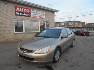 Used 2003 Honda Accord LX-G for sale in St-Hubert, QC