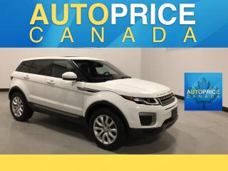 Used 2016 Land Rover Evoque SE NAVIGATION|PANOROOF|LEATHER for sale in Mississauga, ON