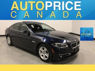 Used 2016 BMW 535 i xDrive HEADS UP DISPLAY|NAVI|LANE DEPART for sale in Mississauga, ON