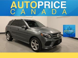 Used 2017 Mercedes-Benz GLE 400 NAVIGATION|PANOROOF|LEATHER for sale in Mississauga, ON