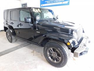 Used 2016 Jeep Wrangler Unlimited 75th Anniversary LEATHER for sale in Listowel, ON