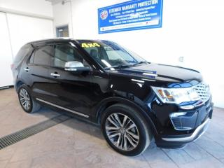 Used 2018 Ford Explorer Platinum LEATHER NAVI SUNROOF for sale in Listowel, ON