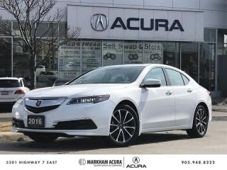 Used 2016 Acura TLX 3.5L SH-AWD w/Tech Pkg Navi, Rearview Cam, Blind Spot Mon for sale in Markham, ON