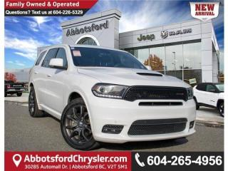 Used 2018 Dodge Durango R/T - Accident Free for sale in Abbotsford, BC