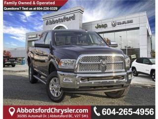 Used 2017 RAM 3500 Laramie - Locally Driven for sale in Abbotsford, BC