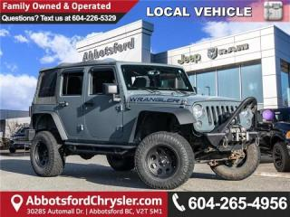 Used 2014 Jeep Wrangler Unlimited Sport - Locally Driven for sale in Abbotsford, BC