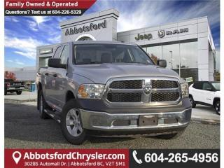 Used 2016 RAM 1500 ST - Locally Driven - Low Mileage for sale in Abbotsford, BC