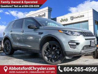 Used 2016 Land Rover Discovery Sport HSE - Locally Driven for sale in Abbotsford, BC