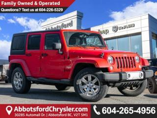 Used 2015 Jeep Wrangler Unlimited Sahara - Locally Driven for sale in Abbotsford, BC