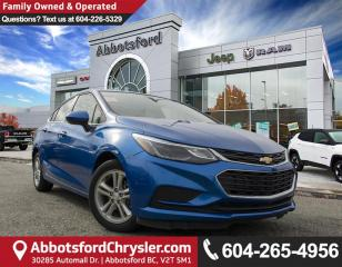 Used 2017 Chevrolet Cruze LT Auto *ACCIDENT FREE* for sale in Abbotsford, BC