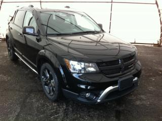 Used 2018 Dodge Journey Crossroad LEATHER SEATING, NAVIGATION, DVD,  PARKSENSE, 7 PASSENGER, SUNROOF, REVERSE CAMERA for sale in Ottawa, ON