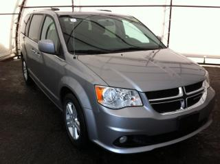 Used 2018 Dodge Grand Caravan Crew CREW PLUS, LEATHER HEATED SEATING, HEATED STEERING WHEEL, REAR CLIMATE CONTROLS, POWER SLIDING DOORS for sale in Ottawa, ON