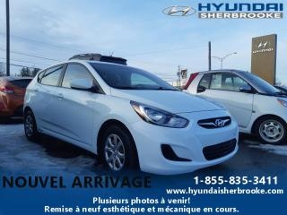 Used 2013 Hyundai Accent BAS KILO!! L+MANUELLE+CD/AUX/USB for sale in Sherbrooke, QC