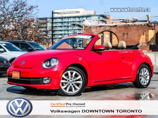 Used 2013 Volkswagen Beetle CONVERTIBLE HIGHLINE TECHNOLOGY PACKAGE for sale in Toronto, ON