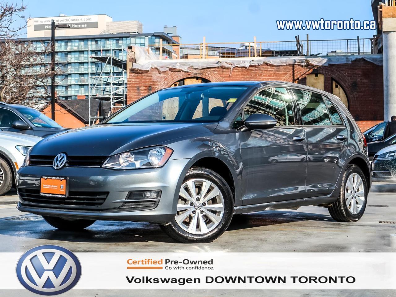 Volkswagen Downtown Toronto >> Used 2015 Volkswagen Golf Comfortline Convenience Package