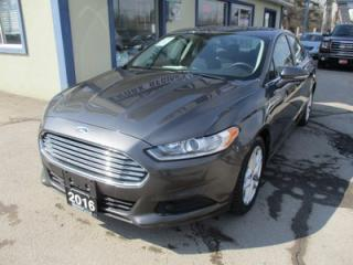 Used 2016 Ford Fusion GAS SAVING SE MODEL 5 PASSENGER 1.5L - ECO-BOOST.. SYNC TECHNOLOGY.. BACK-UP CAMERA.. BLUETOOTH SYSTEM.. for sale in Bradford, ON