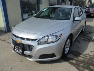 Used 2014 Chevrolet Malibu GREAT KM'S LS MODEL 5 PASSENGER 2.5L - ECO-TEC.. CD/AUX INPUT.. KEYLESS ENTRY.. REVERSE PARKING AID.. for sale in Bradford, ON