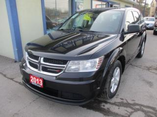 Used 2013 Dodge Journey GAS SAVING SE MODEL 5 PASSENGER 2.4L - DOHC.. TOUCH SCREEN.. CD/AUX/USB INPUT.. KEYLESS ENTRY & START.. for sale in Bradford, ON