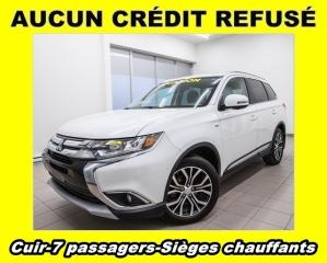 Used 2017 Mitsubishi Outlander Gt 4x4 7 Passagers for sale in Mirabel, QC
