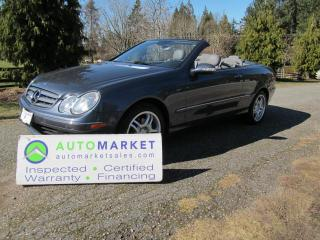 Used 2006 Mercedes-Benz CLK350 CLK350 Cab, INSPECTED, BCAA MBSHP, FREE WARRANTY, FINANCE for sale in Surrey, BC