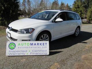 Used 2016 Volkswagen Golf Sportwagon HIGHLINE, SPORT WAGON, INSP, BCAA MBSHP, WARRANTY AND FINANCING! for sale in Surrey, BC
