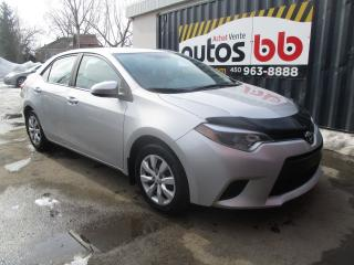 Used 2014 Toyota Corolla Berline 4 portes, boîte manuelle, CE for sale in Laval, QC