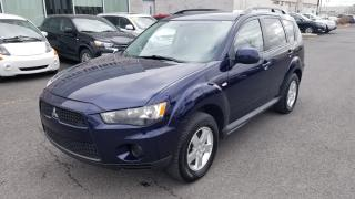 Used 2012 Mitsubishi Outlander Es Mags+attache for sale in St-Hubert, QC