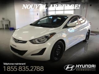 Used 2014 Hyundai Elantra GL + A/C + CRUISE + GR. ÉLÉCTRIQUE + WOW for sale in Drummondville, QC
