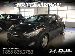 Used 2013 Hyundai Elantra GLS + GARANTIE + TOIT + MAGS + FOGS + CR for sale in Drummondville, QC