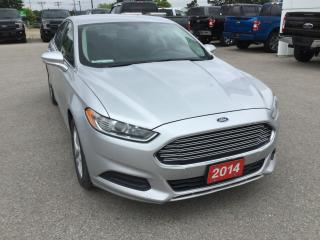 Used 2014 Ford Fusion SE | Accident Free | Heated Power Mirrors for sale in Harriston, ON
