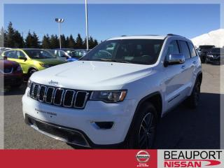 Used 2018 Jeep Grand Cherokee LIMITED 4X4 ***CUIR / TOIT / NAVI*** for sale in Beauport, QC