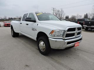 Used 2014 RAM 3500 SXT. Diesel. 4X4. New tires for sale in Gorrie, ON