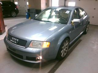 Used 2004 Audi RS 6 RS6 - 450BHP - LOW KM - ONTARIO CAR! - CERTIFIED! for sale in Oakville, ON