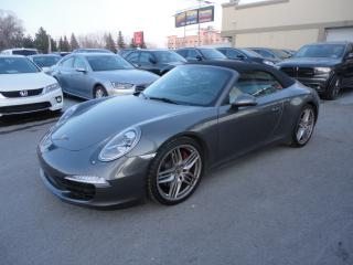 Used 2012 Porsche 911 Carrera S Cabriolet Cuir GPS 32063kms for sale in Laval, QC