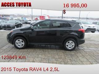 Used 2015 Toyota RAV4 for sale in Rouyn-Noranda, QC