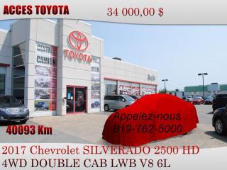 Used 2017 Chevrolet Silverado 2500 for sale in Rouyn-Noranda, QC