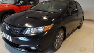 Used 2012 Honda Civic SI + 4 portes + Manuelle for sale in St-Raymond, QC